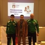 Trofeo CONI 2014 – Premiazioni – Torino, sabato 20 Dicembre 2014