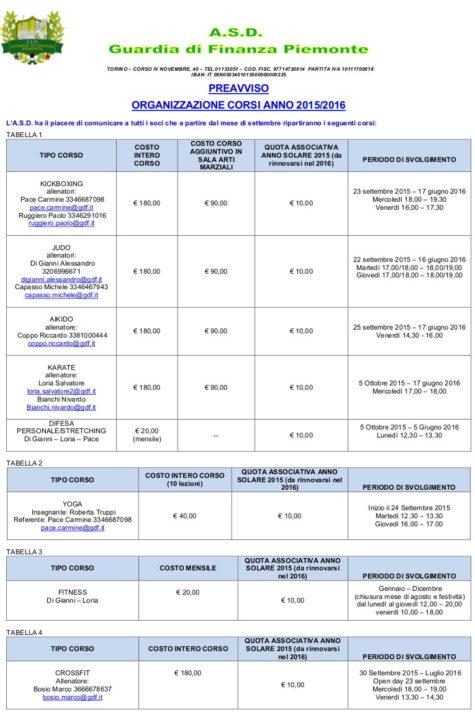 AVVISO CORSI 2015-2016