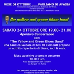 Mese di Ottobre… parliamo di Afasia – Yellow and Green Blues Band –